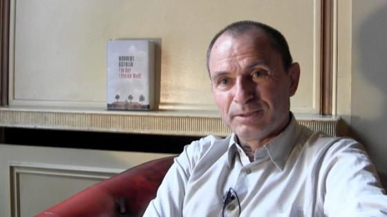 Norbert Gstrein, In der freien Welt, Interview Lounge, Kerstin Carlstedt